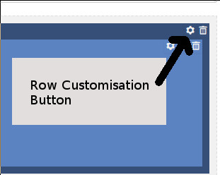 Row Customisation icon