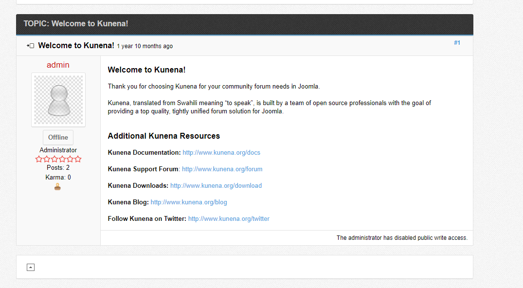 Easy Layouts for Kunena forum
